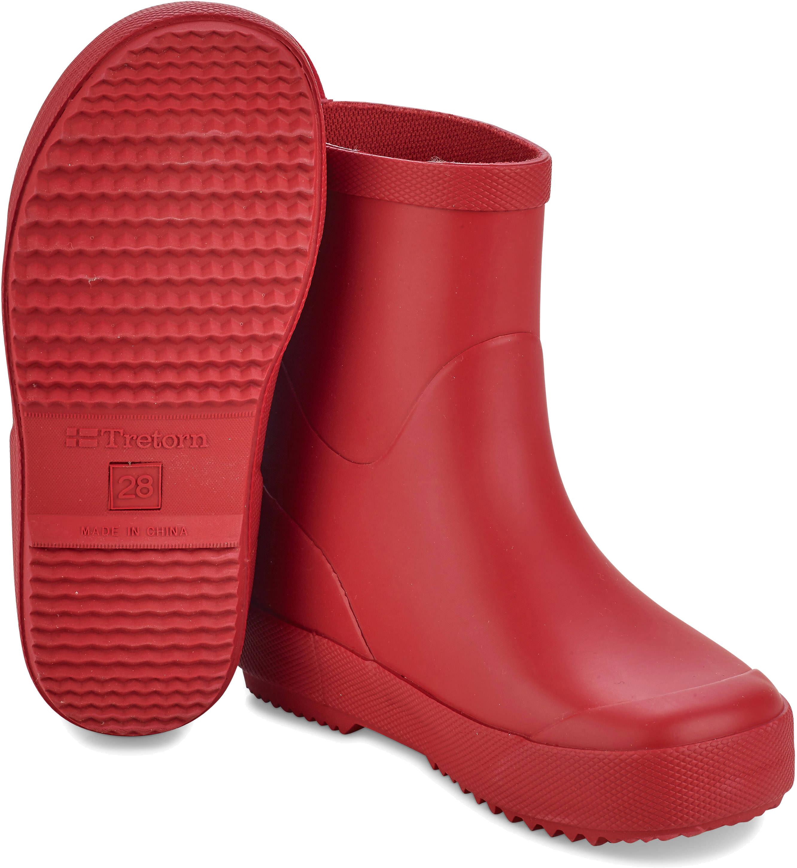 2780365e5e5 Tretorn Kids Wings Monochrome Rubber Boots Red - addnature.com
